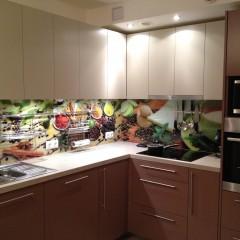 Fotoprint köögitagaseinale maitseainetega