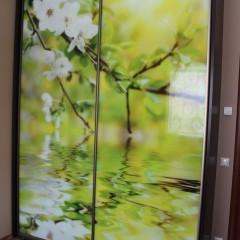Doors with photo prints