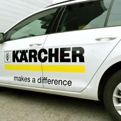 Логотип на машину Kärcher