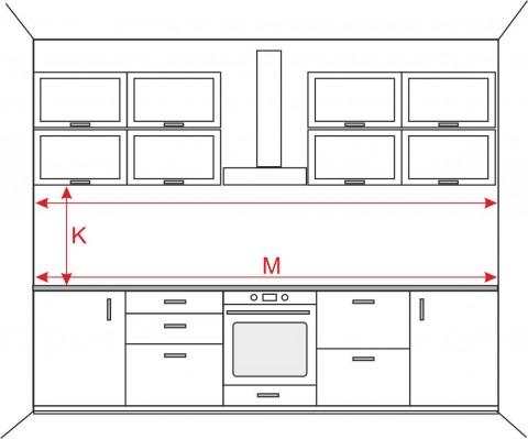 Köögitagaseina mõõtmine
