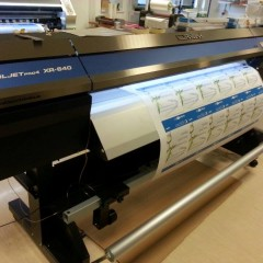 Roland with plotter