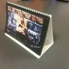 Table calendar, size 210 х 125mm