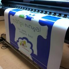 Suurte plakatite printimine laiformaatprinteril