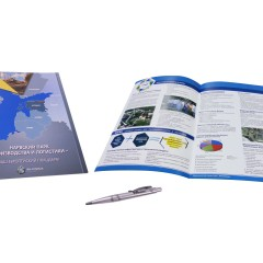 Booklet A4 size glossy laminated